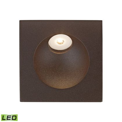 Alico Zone LED Step Light In Matte Brown