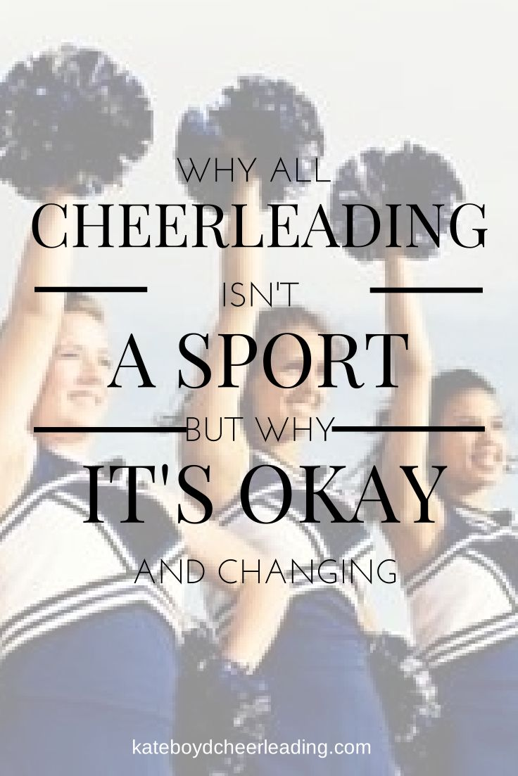 an overview of cheerleading as a type of sport Cheerleading occupies a contested space in american culture and a key point of  controversy is whether it ought to be considered a sport drawing on interviews.