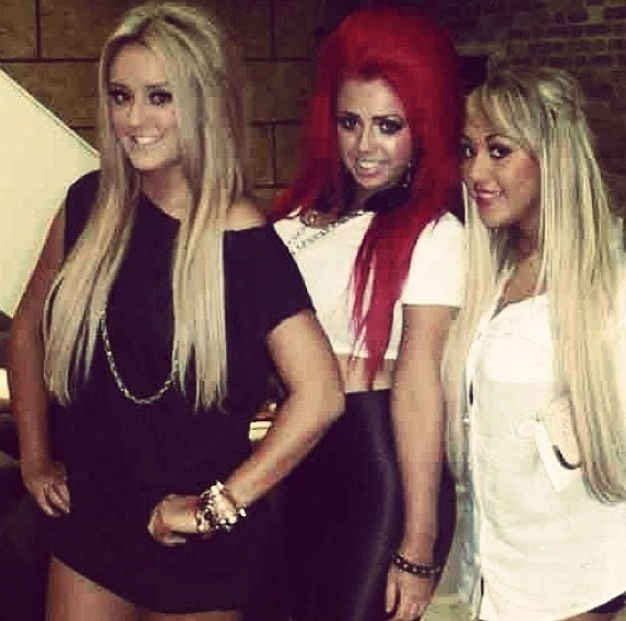 Charlotte-Letita Crosby, Holly Hagan and Sophie Kasaei