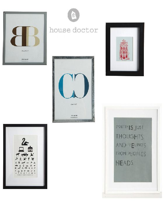 Schilderijtjes van House Doctor via Toef Wonen http://www.toefwonen.nl/c-2216924/wanddecoratie/