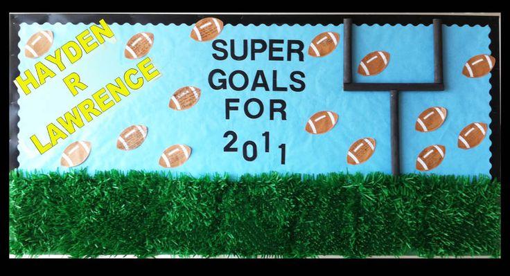 Put new years resolution on football
