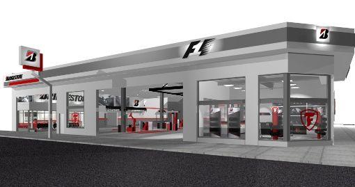 Diseno de locales comerciales en zona sur-Bridgestone & Firestone-Arq Sergio-Suarez