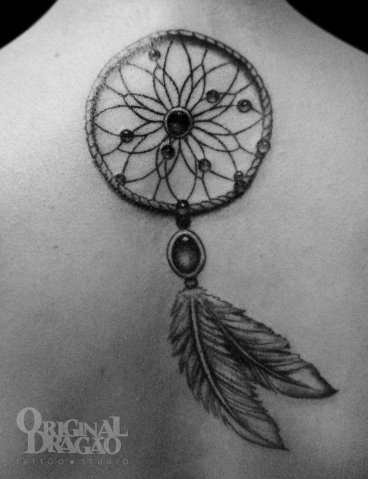 Dream Catcher Tattoo _ Tatuagem Filtro de Sonhos I like the beads