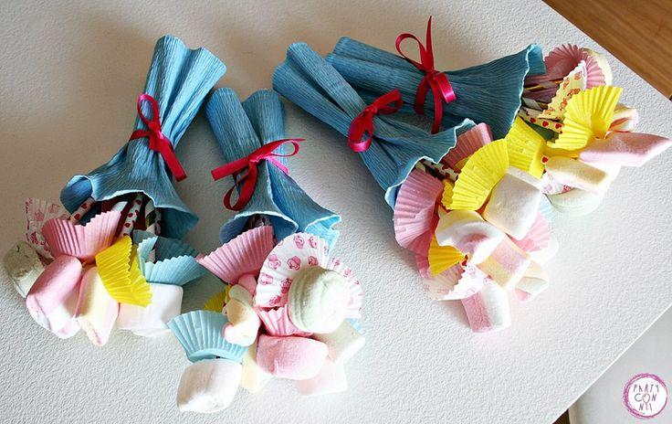 Bouquet di giuggiole per le piccole invitate del Pigiama Party di