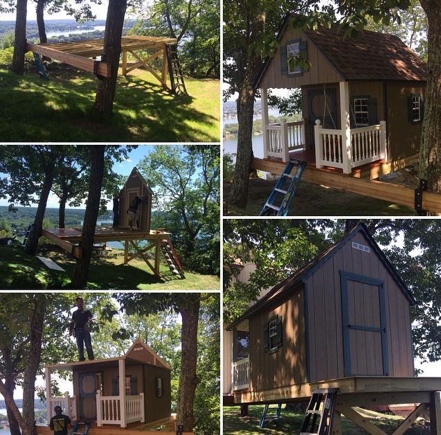 15 Best Fantasy Tree House Swing Sets Images On Pinterest