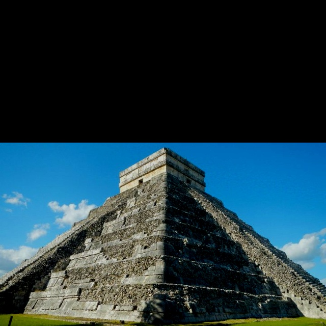 Honeymoon! Took this at Chichen Itza in Mexico. Amazing trip.