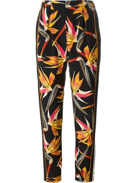 Купить Fendi брюки с принтом 'Bird of Paradise' в Max-B from the world's best independent boutiques at farfetch.com. 400 бутиков, 1 адрес. .
