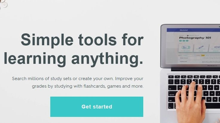 Learning tools & flashcards, for free | Quizlet - Lots of topics already compiled!