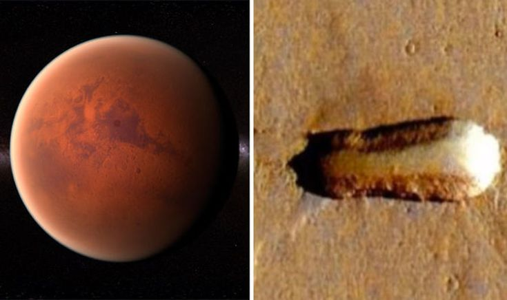 'ALIENS ON MARS' UFO mothership is on Red Planet, claim spotters  | Weird | News | Express.co.uk