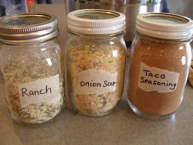 Make your own spice mixes (minus the MSG). Ranch dressing can be made with Greek yogurt and milk