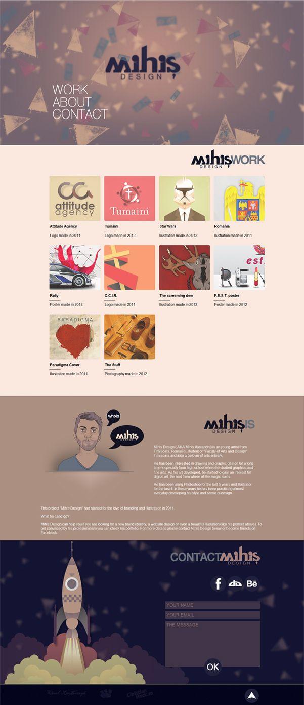 Unique Web Design on the Internet, Mihis Design #webdesign #webdevelopment #website