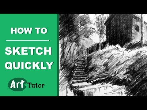 How to Sketch Places Quickly - YouTube