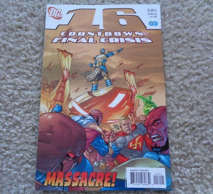 DC Comics Countdown to Final Crisis #16 January 9, 2008
