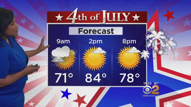 Looking Great For Fourth Of July -CBS2's Elise Finch has the latest weather forecast.