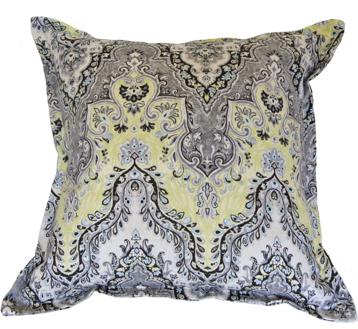 Rock the kazbah lemon cushion cover