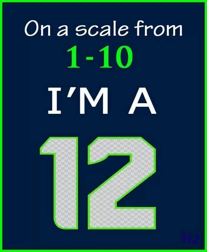 On a scale from 1-10, I'M A 12!!!!
