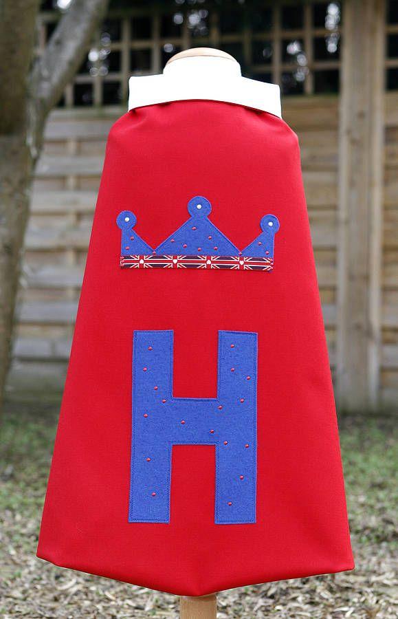 Royal Prince Or Princess Dressing Up Cape