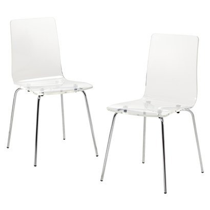 clear office chairs. set of 2 acrylic chairs target clear office