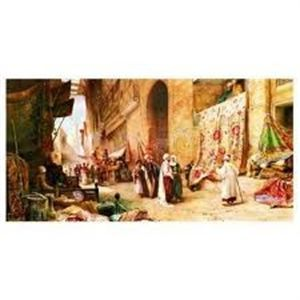 Anatolian 1500 Parça Puzzle - Kahire De Halı Pazarı