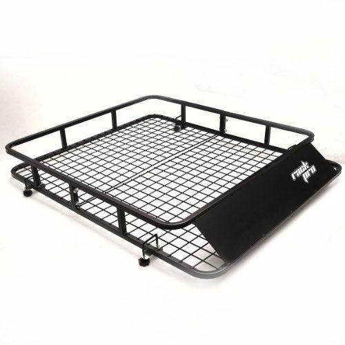 Universal Roof Rack Basket Car Top Extra Luggage Carrier Cargo Holder Travel SUV -- Visit the image link more details.