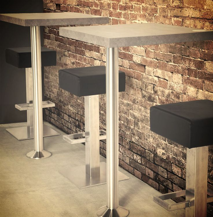les 25 meilleures id es concernant pied table haute sur. Black Bedroom Furniture Sets. Home Design Ideas