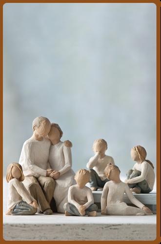 Grandparents with many grandchildren