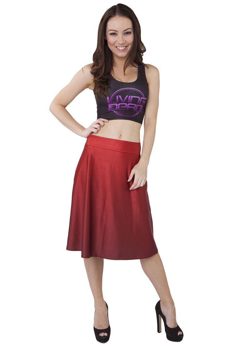 Scarlet Midi Skirt - $55.00 AUD