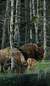 The Survivors - Judy Larson - World-Wide-Art.com - $305.00 #JudyLarson #Horses