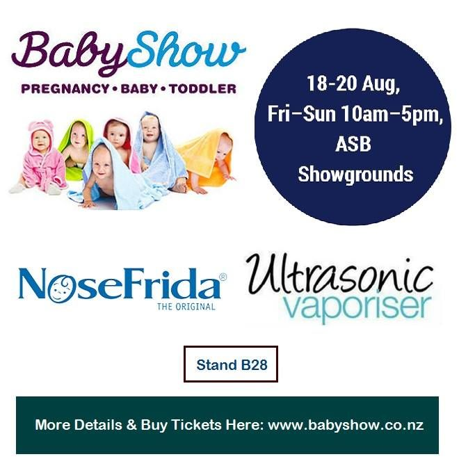 "🔖 Auckland 2017 - Baby Show 🗓 18-20 Aug, Fri–Sun 10am–5pm, ASB Showgrounds 📌 Stand B28 🏃 Come & Grab our Show Specials ✔ NoseFrida® - The Snotsucker Nasal Aspirator - Doctor invented and recommended. NoseFrida is your go-to natural, hygienic baby booger buster. It's totally safe (for parents AND baby), so you can say ""sayonara"" to snotty noses."
