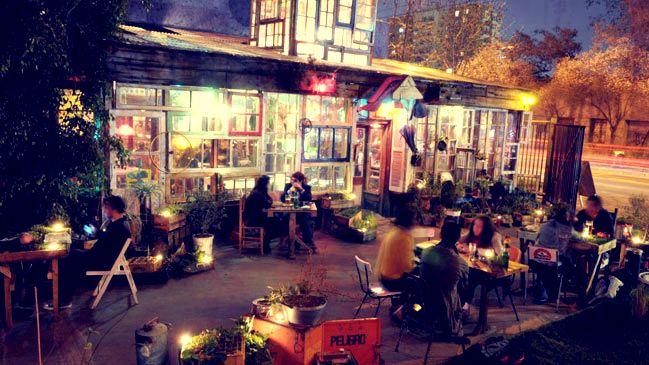 Restaurante La Jardin, Santiago de Chile