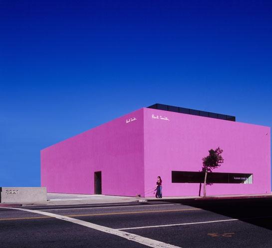 La boutique Paul Smith sur Melrose Avenue à Los Angeles