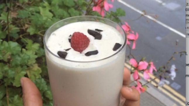 RECIPE: Lean in 15 Banana protein ice cream