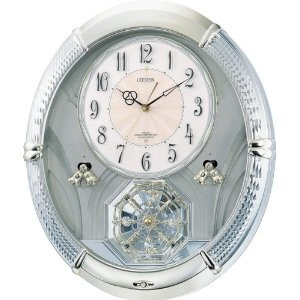 Guess Watches Ladies - CITIZEN (シチズン) 電波アミューズ 掛け時計 パルミューズルミエル スワロフスキー回転飾り 6曲メロディ 4MN430-018 | 最新の時間センター
