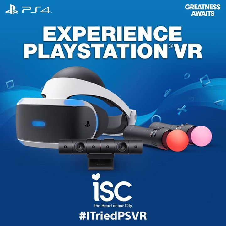 Come visit PlayStation's Virtual Reality demonstration in KIA Court now until Sunday August 27th! #Phones #Computers#Electronics #Fashion #Beauty #Health