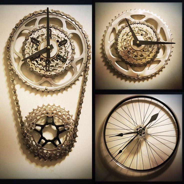 bike parts for man cave 64 best bike parts clocks images on pinterest bike parts gears