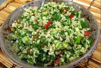 Manger Turc - La cuisine turque: SALADE DE BOULGOUR - Bulgurlu Salata