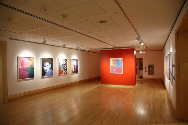 The exhibit hall at the Varley Art Gallery.