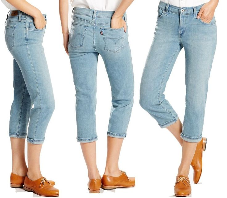 809 best Women's Levi's jeans, pants, capri, shorts images on ...