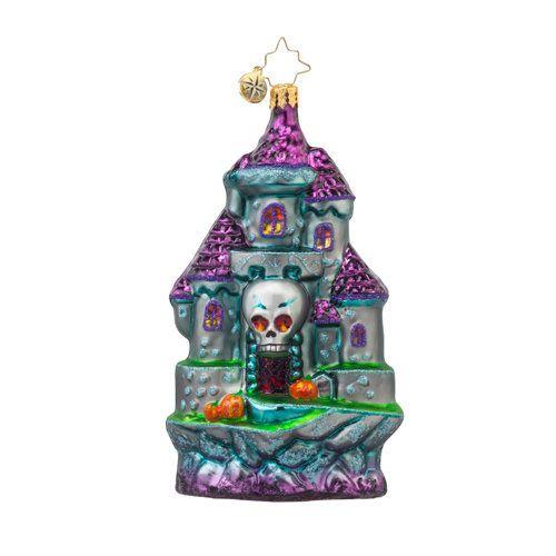 "Christopher Radko Halloween Ornament - ""Spooky Entrance"""