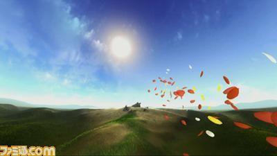 【BLOG番外編】すばらしく気持ちいいゲーム:『Flowery(フラアリー)』 - みんなのGOLF 5プレイ日記
