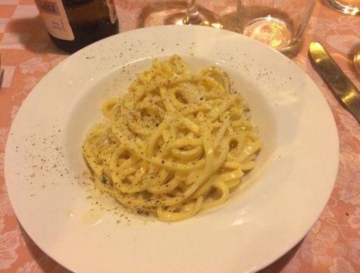 Tonnarelli cacio e pepe #pasta #cacioepepe