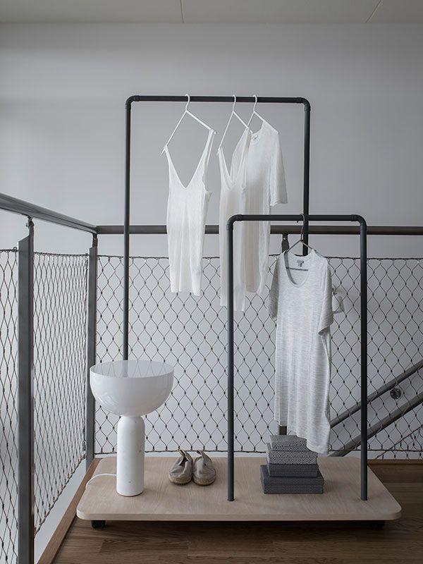 DIY: Übersnygg klädställning att göra själv av kopparrör