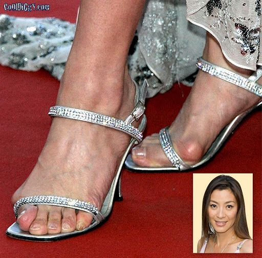 ugly feet | bad feet michelle yeoh jpg 2 worse celebrity feet michelle yeoh  ugly .