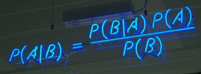 Teorema de Bayes de neón