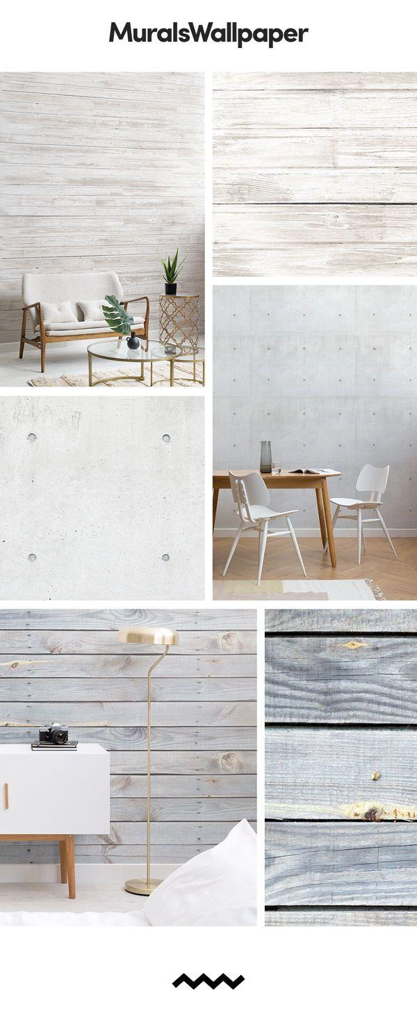 Créer un simple espace blanc avec du papier peint blanc uni, et ...