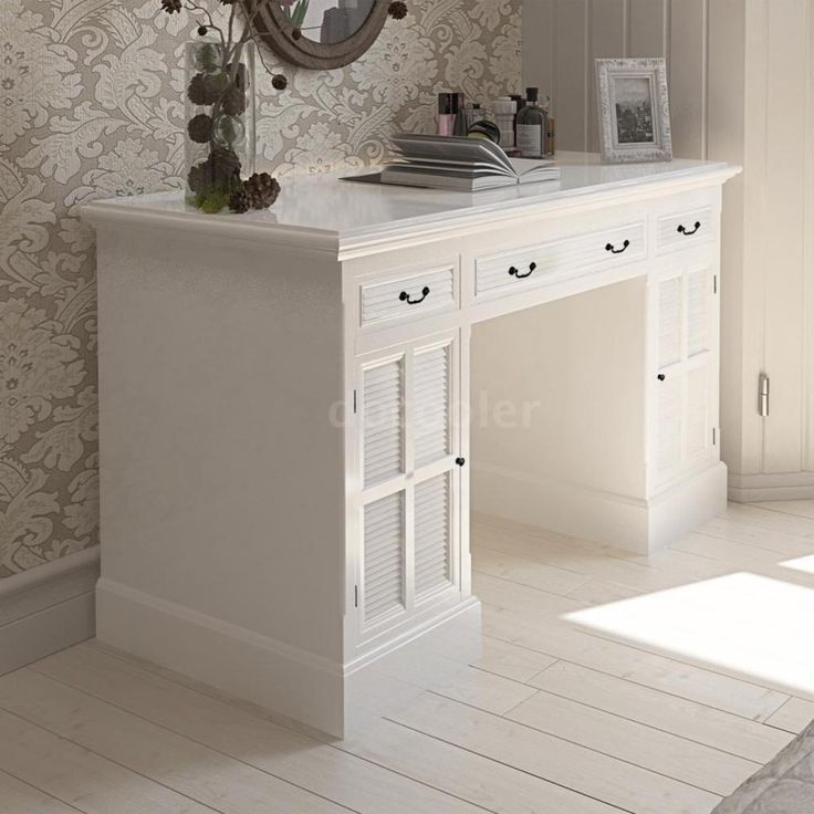 Dressing Table Writing Desk Vanity Drawer Cabinet Computer Study Bedroom D4Y2 in Home, Furniture & DIY, Furniture, Desks & Computer Furniture | eBay!