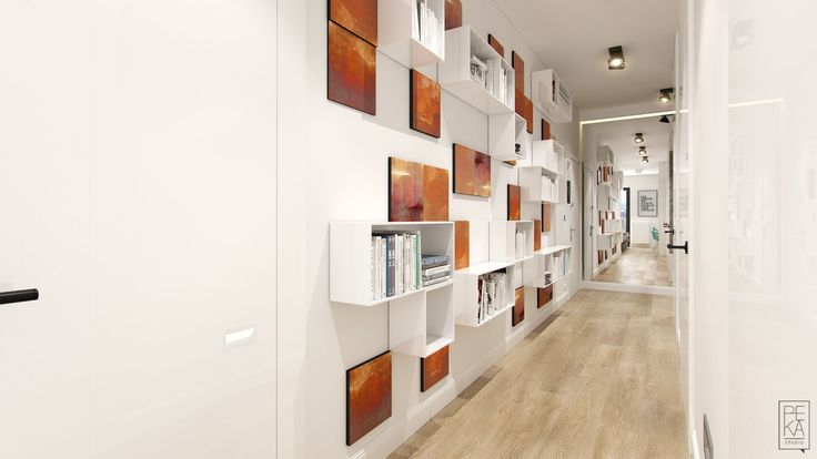 Hallway by PEKA STUDIO