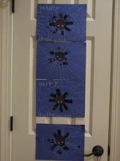 DIY Paper Towel Roll Spider Print DIY Halloween