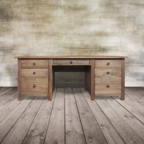 handmade office furniture. 1295 liked on polyvore featuring home furniture desks grey u0026 living office rustic writing table handmade