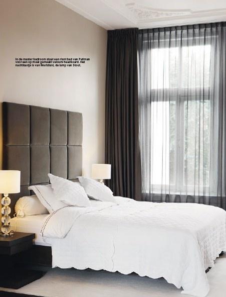 Rustig en stijlvolle slaapkamer